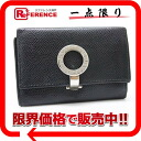 Six BVLGARI bulldog garfish logo clip key case black 》 fs3gm for 《