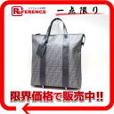 "Fendi caked tote bag grey 7VA286 good as new ""response.""-fs3gm"