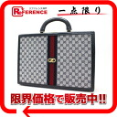 "Fs3gm オールドグッチ Gucci GG trunk case Navy ""response."""