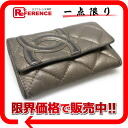 CHANEL cotton club coin case combined use key case bronze 》 fs3gm for 《
