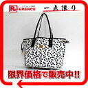 M CM LOVELESS collaboration Dalmatian studs tote bag black X white 》 fs3gm for 《
