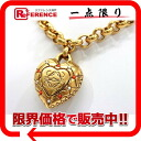 Loewe logogriph heart type necklace gold 》【 fs3gm for 《