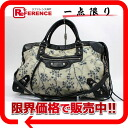 "Bag balenciaga ""the city"" black x beige x Navy series 115748 ""response.""-fs3gm"