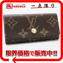 "4 four Louis Vuitton monogram ""ミュルティクレ"" key case M62631-free 》 fs3gm for 《"