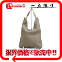 "Hermes Maasai PM shoulder bag トリヨンクレマンス grey of silver bracket C engraved ""response."""