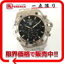 "Tag Heuer Aquaracer Grande date chronograph mens watch SS quartz CAF101E ""enabled."""