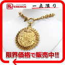 CHANEL pendant necklace gold 》 fs3gm for 《