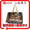"Louis Vuitton Monogram vinyl ""カバクルーズ"" サマートート bag M50500 fs3gm"