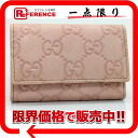 Six gucci sima line key case pink 150402 beautiful article 》 fs3gm for 《