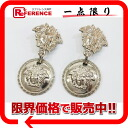 Gianni Versace Medusa earrings silver 》 fs3gm for 《