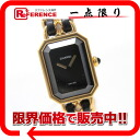 Chanel premiere ladies watch L gold x black s correspondence.""