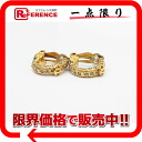"Chanel 01 p rhinestone earrings gold ""response.""-fs3gm"