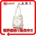 CHANEL camellia calfskin tote bag beige X white 》 fs3gm 02P05Apr14M for 《