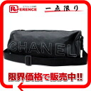 CHANEL sports rubber roll bag shoulder bag black 》 fs3gm for 《