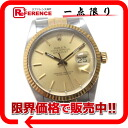 "Rolex Oyster Perpetual Datejust mens watch SS/YG automatic self-winding 16013 R-(-1987 years) s correspondence.""fs3gm02P05Apr14M"