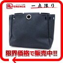 Substitute バッグトワルオフィシエールネイビーシルバー metal fittings 》 fs3gm for HERMES yell bag MM for 《