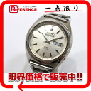 23 5 SEIKO Akuta's D date men watch stone SS self-winding watch antiques 6106-7520 》 fs3gm for 《