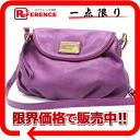 Mark by MARC BY marc jacobs leather shoulder bag purple 》 fs3gm for 《