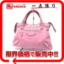 """The ジャイアントタウン"" balenciaga bag pink 240578 fs3gm"