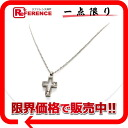 Like-new 》 fs3gm which has been finished with happy diamond cross pendant necklace 3P diamond for 《