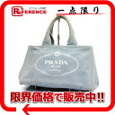 PRADA CANAPA( カナパ) Small tote bag light blue 》 fs3gm for 《