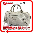 "BALENCIAGA editors bag ""the ツィギー"" gray system 128523 》 fs3gm for 《"