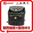 "Chanel lambskin matelasse backpack black ""response.""-fs3gm02P05Apr14M"