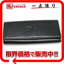 "Loewe leather 4-key case black ""response.""-fs3gm02P05Apr14M02P02Aug14"