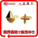 "Two Louis Vuitton ""Bergh フロートユアボート"" ring set L gold M66457 》 02P05Apr14M 02P02Aug14 for 《"