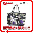 Dior ANSELM REYLE FOR DIOR Ann serum Lyle collection tote bag camouflage camouflage purple like-new 》 for 《