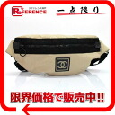 CHANEL sports line banana bag body bag beige X black 》 fs3gm for 《