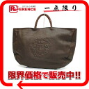 Gianni Versace Medusa tote bag dark brown 》 fs3gm for 《