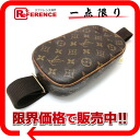 "Louis Vuitton Monogram ""Pochette gange"" body bag M51870? s support.""02P05Apr14M02P02Aug14"