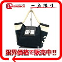 2.55 CHANEL canvas tote bag navy X black X white silver metal fittings 》 for 《