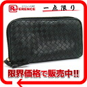 "Bottega Veneta intrecciato zip around wallet black 114076 ""response.""-02P05Apr14M02P02Aug14"