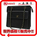 CHANEL lambskin quilting chain shoulder bag black 》 02P05Apr14M for 《