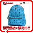 Rucksack blue 》 with M CM studs for 《