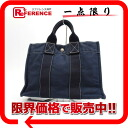 HERMES Deauville PM tote bag navy 》 for 《