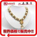 CHANEL imitation pearl necklace gold 》 for 《