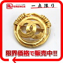 "Chanel 94 p CC brooch gold ""response.""-02P11Jan14"