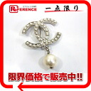 CHANEL D11V CC pearl broach silver beauty product 》 for 《