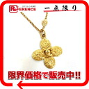 CHANEL 95A flower CC long necklace gold 》 for 《
