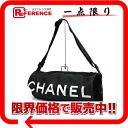 CHANEL sports barrel shoulder bag roll bag black 》 for 《