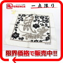 "Age) white X black X gray system of the HERMES silk scarf ""petit boyfriend"" L'ANNEE DU RAT( mouse-free 》 for 《"