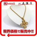 "Chanel 96P CC pendant necklace gold ""response."""