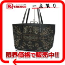 Fendi bag leather embroidery mini-tote bag black 8BH056 》 02P05Apr14M for 《