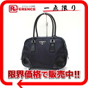 PRADA nylon handbag purple X black B10764 》 for 《