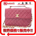 Chanel lambskin quilted 2WAY shoulder bag Rouge (red) s correspondence.""