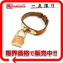 HERMES Kelly watch Lady's watch quartz orange gold metal fittings A 刻 》 for 《