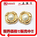 "Chanel faux Pearl Earrings gold ""response.""-02P05Apr14M02P02Aug14"